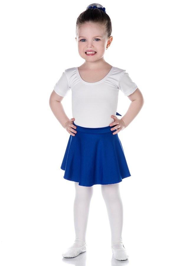 INFANTIL - Saia Bailarina Azul Royal