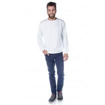 ADULTO - Blusão de Moleton Branco