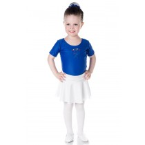 INFANTIL - Blusa de Ballet Manga Curta