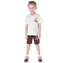 INFANTIL - Camiseta Algodão Manga Curta