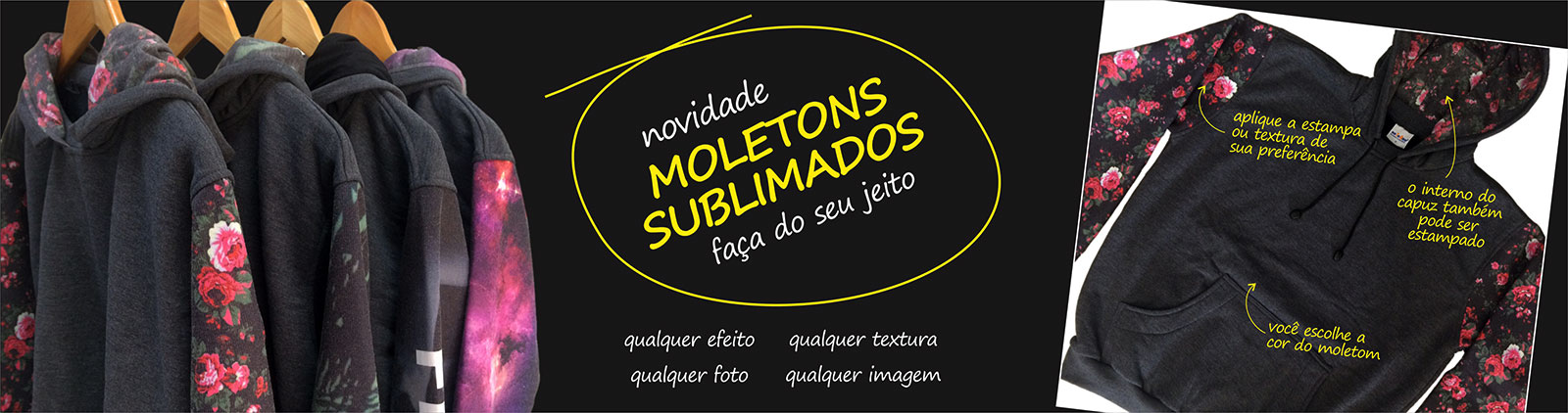 Moletons Sublimados