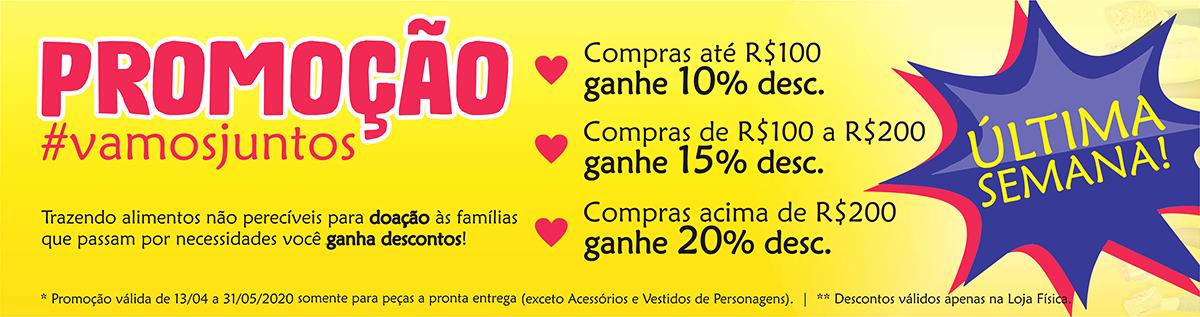 Promoção #vamosjuntos - abr2020